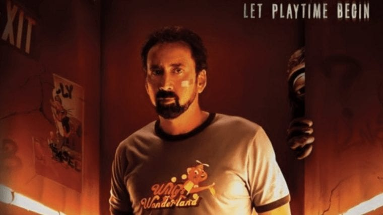 Nic Cage Fights Animatronics in Willy's Wonderland Preview